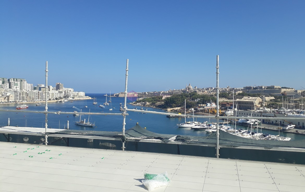 Duplex Seafront Office in Sliema For Lease