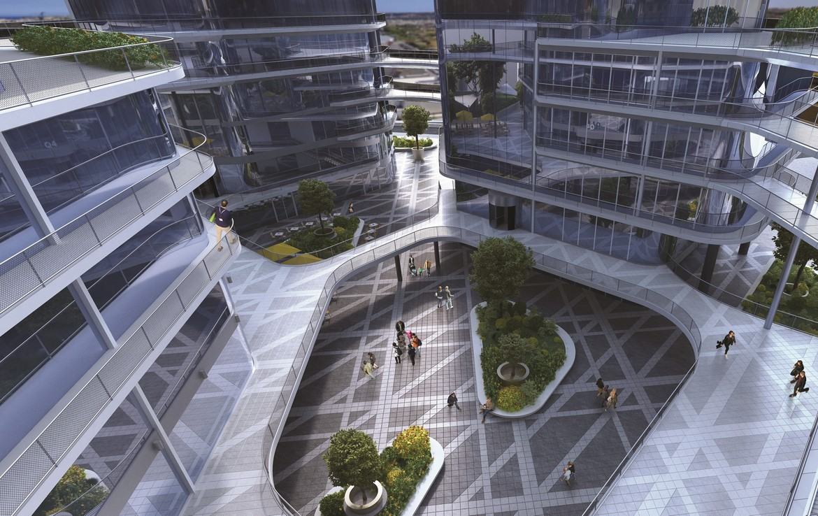 The Quad Business Towers Office Space Malta
