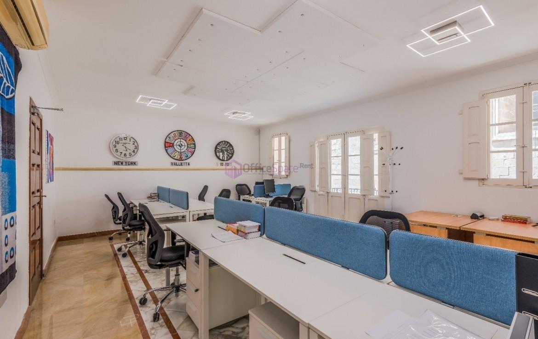 Co-working Desks To Let in Valletta