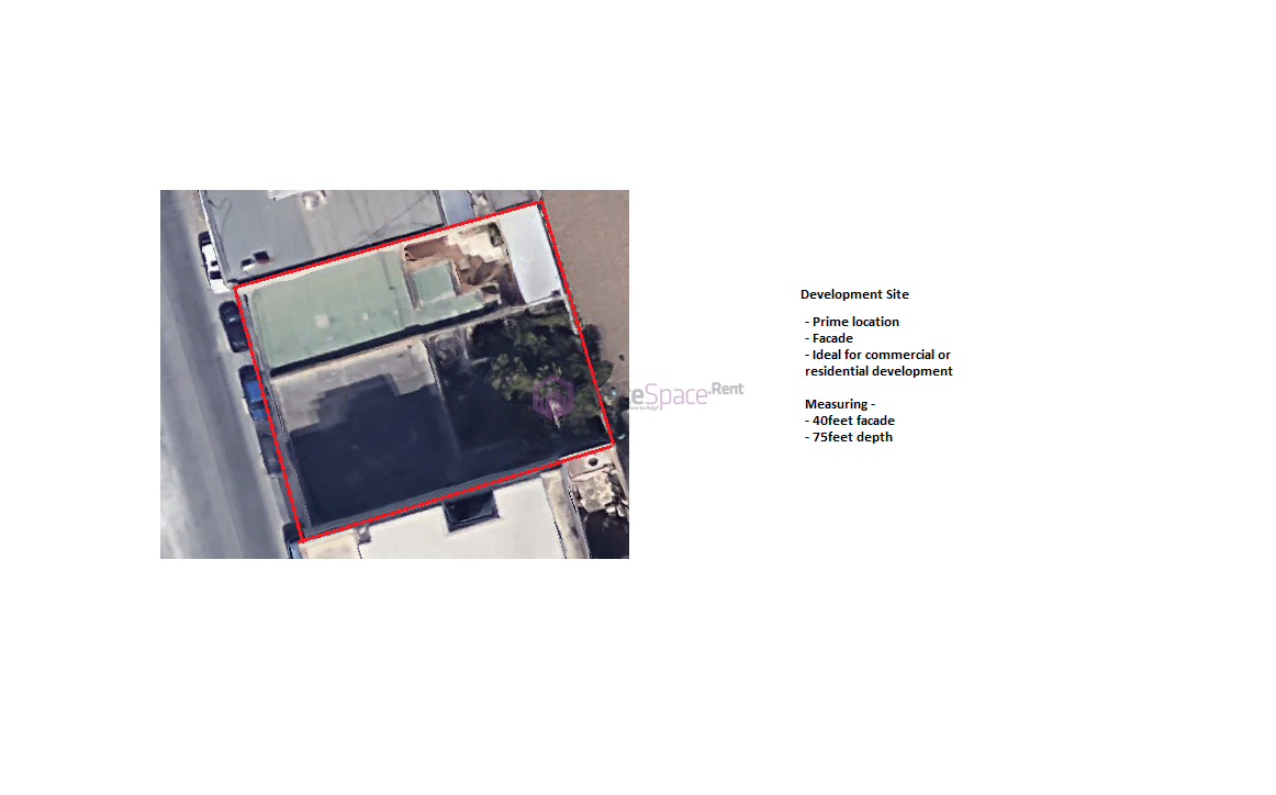 Site For Commercial Development For Sale
