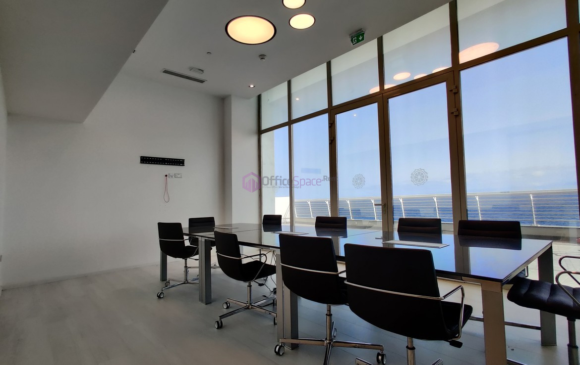 Tigne Point Sliema Office To Let